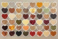 Nourriture biologique superbe sèche Photos stock