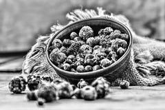 Nourriture biologique surgelée de baies images libres de droits