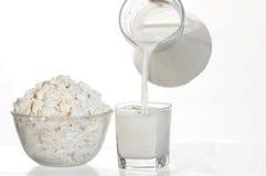 Nourriture blanche Image stock