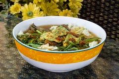 Nourriture célèbre thaïlandaise, som de Kaeng ou soupe aigre thaïlandaise faits en tamarinier p Image libre de droits