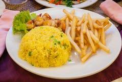 Nourriture cambodgienne de Khmer Images libres de droits