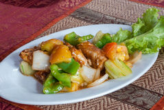 Nourriture cambodgienne de Khmer Photo libre de droits