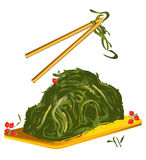 Nourriture Chine de Laminaria illustration de vecteur