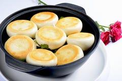 Nourriture chinoise : Boulettes grillées photo stock