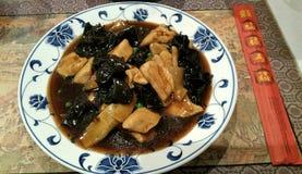 Nourriture chinoise de plat Image stock