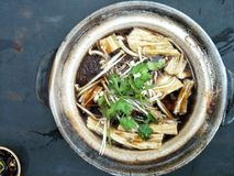 Nourriture chinoise et x22 ; the& x22 de Kut de bak ; photographie stock