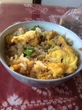Nourriture chinoise faite par la maman Image stock
