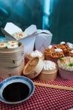 Nourriture chinoise miniature Images libres de droits