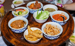 Nourriture chinoise ou thaïlandaise images libres de droits
