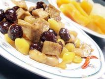nourriture chinoise Remuer-frite. Images libres de droits