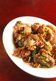 Nourriture chinoise, repas de porc photo stock