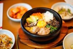 Nourriture coréenne Images stock