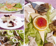 Nourriture créatrice photo stock