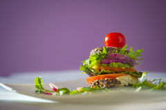 Nourriture crue Photographie stock libre de droits