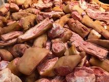 Nourriture crue de viande Photo libre de droits