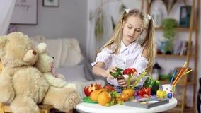 Nourriture décorative de fruit clips vidéos