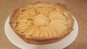 Nourriture délicieuse de tarte aux pommes images stock