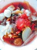 Nourriture délicieuse de terre de ‹de Thai†Photographie stock