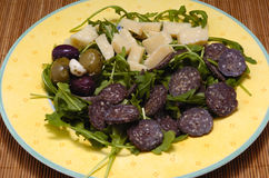 Nourriture délicieuse italienne Images stock