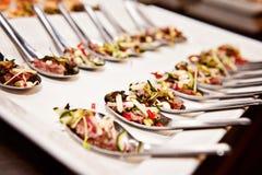 Nourriture d'événement photographie stock