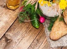 Nourriture d'agriculture biologique photos stock