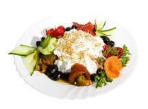 Nourriture d'apéritif, salades Photographie stock libre de droits