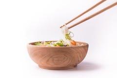 Nourriture d'Asiatique de nouille Photo stock