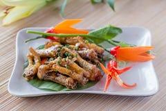Nourriture d'Asiatique de pieds de poulet Image libre de droits