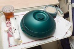 Nourriture d'hôpital Image stock