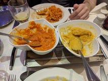 Nourriture d'Indien d'amour Photo libre de droits