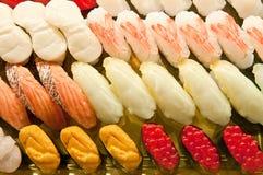 Nourriture d'une série de sushi Photographie stock libre de droits