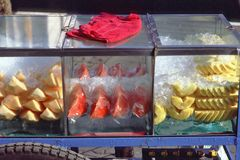 Nourriture de Bangkok, de la Thaïlande, de rue et marché Images stock