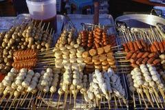 Nourriture de Bangkok, de la Thaïlande, de rue et marché Images libres de droits
