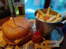 Nourriture de bar photographie stock libre de droits