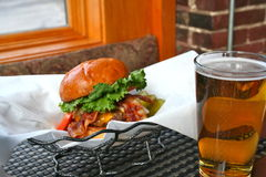 Nourriture de bar Image libre de droits