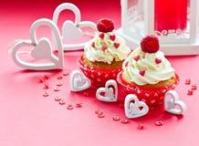 Nourriture de bonbon à Saint-Valentin de saint Image stock