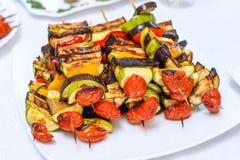 Nourriture de canapes de restauration Image stock
