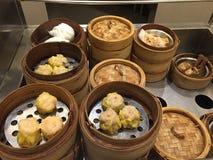 Nourriture de Chinois de Dim Sum Photos stock