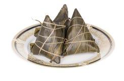 Nourriture de chinois traditionnel - boulettes de riz Image libre de droits