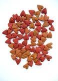 Nourriture de coeur Image stock