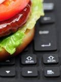 Nourriture de commande en ligne photos libres de droits