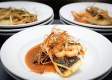 Nourriture de Contemporany Photos stock