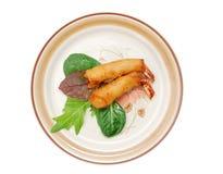 Nourriture de crevette Images libres de droits