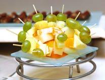 Nourriture de cure-dents Photo libre de droits
