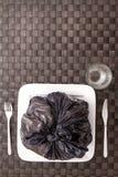 Nourriture de déchets images stock