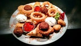 Nourriture de doigt Photographie stock libre de droits