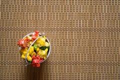 Nourriture de fête d'anniversaire Photos stock