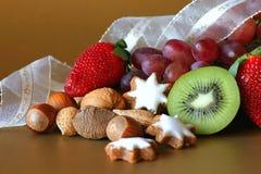 Nourriture de fête de vacances Image libre de droits