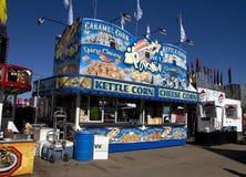 Nourriture de festival de carnaval photo libre de droits