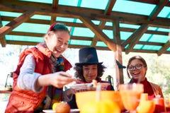 Nourriture de Halloween Photo libre de droits